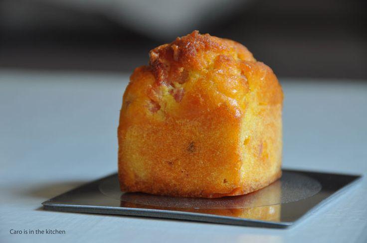 Minis cakes aux allumettes de jambon - caroisinthekitchen