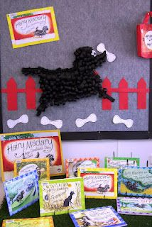 Pet theme - May - add an interactive chart/graph with post its - what kind of pet to you have?