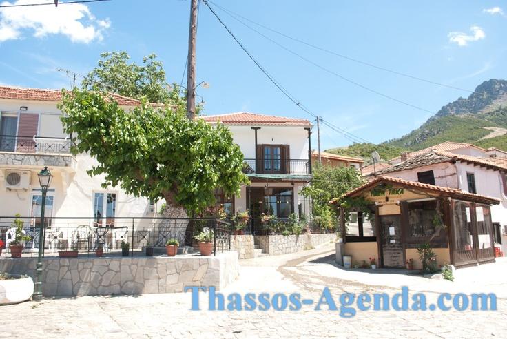 Rachoni village, Thasos.
