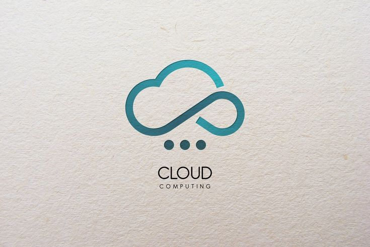 Cloud Computing  Logo by Legend_tp on @creativemarket