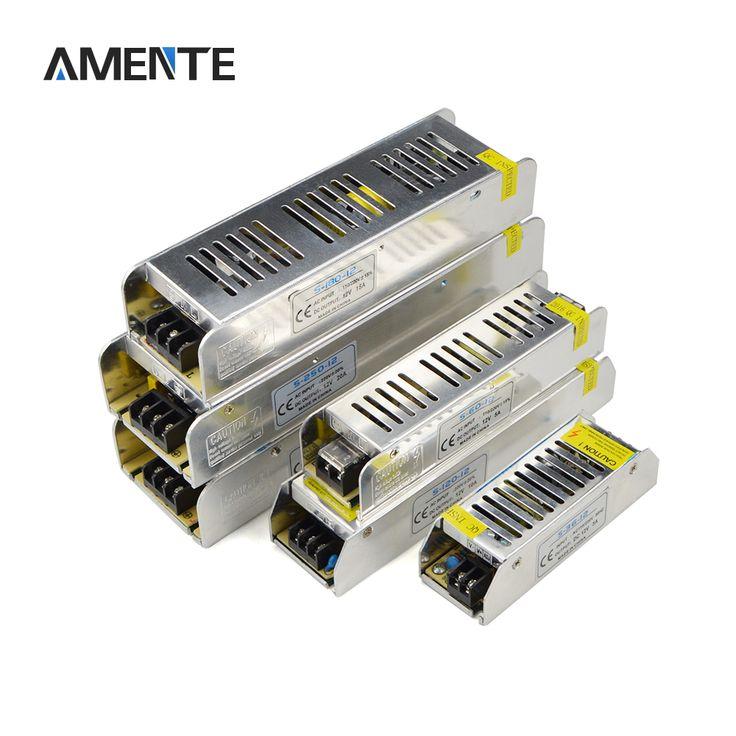 1 SZTUK Materiały DC12V Aluminium DOPROWADZIŁ Kierowca Adapter 3A 5A 8A 10A 12A 16.5A 20A 30A Do Taśmy LED Światła transformatory