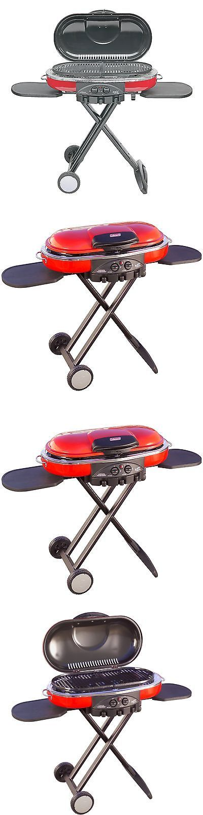 Camping BBQs and Grills 181388: Coleman Road Trip Propane Portable Grill Lxe Red Propane Gas Camping Outdoor New -> BUY IT NOW ONLY: $126.39 on eBay!