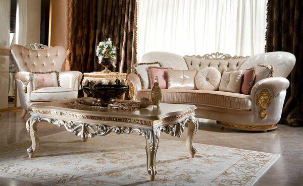 Sofa Mewah Modern Helios Ruang Tamu Di 2020 Set Sofa Desain Sofa