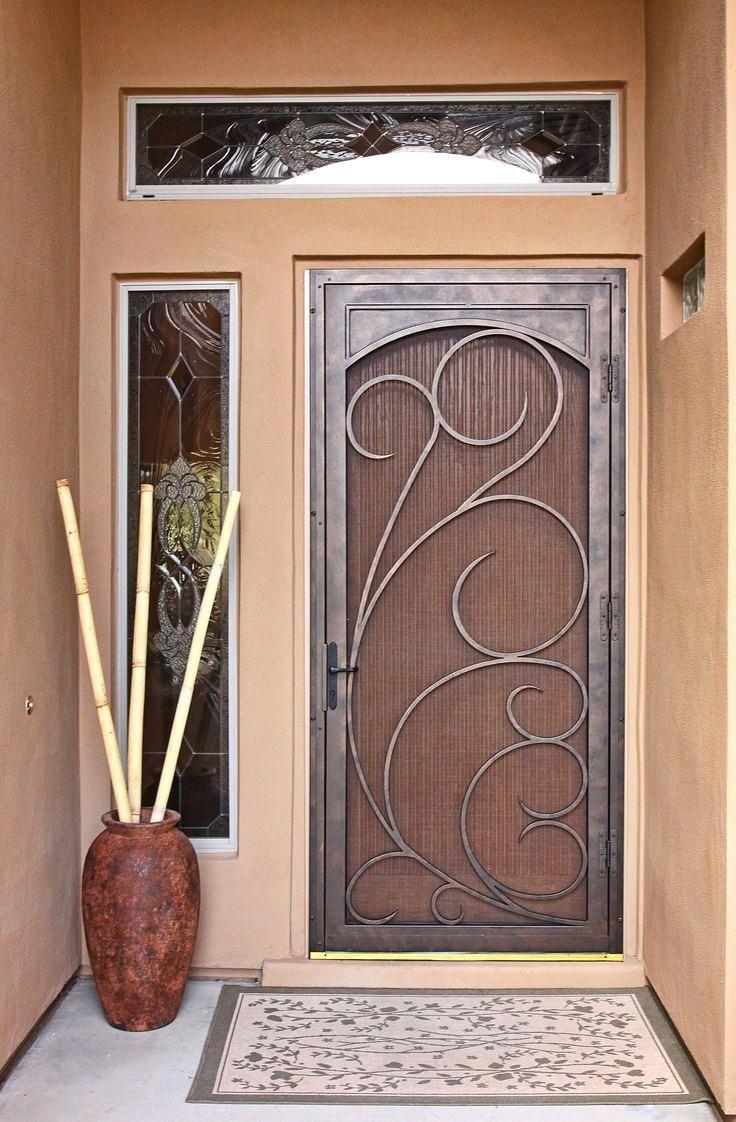Front entry door with built in screen your guide to - Exterior door with screen built in ...