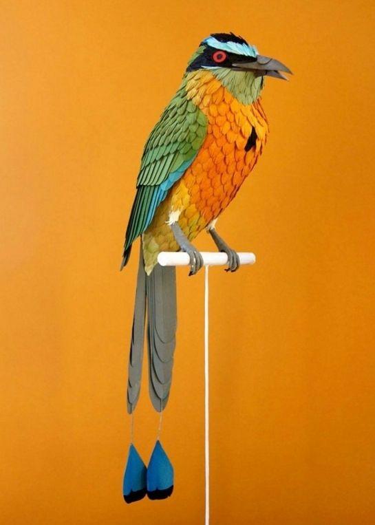 (+2) Бумажные птицы