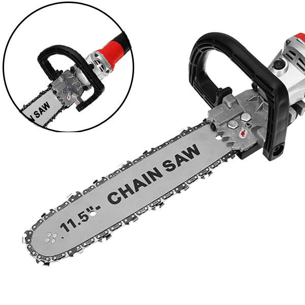 Drillpro 11.5 Inch Chainsaw Bracket Changed Angle Grinder Into Chain Saw Woodworking Tool Sale - Banggood.com