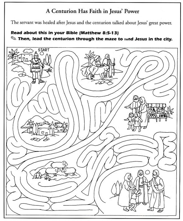 centurion servant coloring pages - photo#20