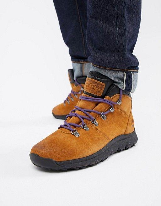 Timberland World hiker boots in brown | asos men