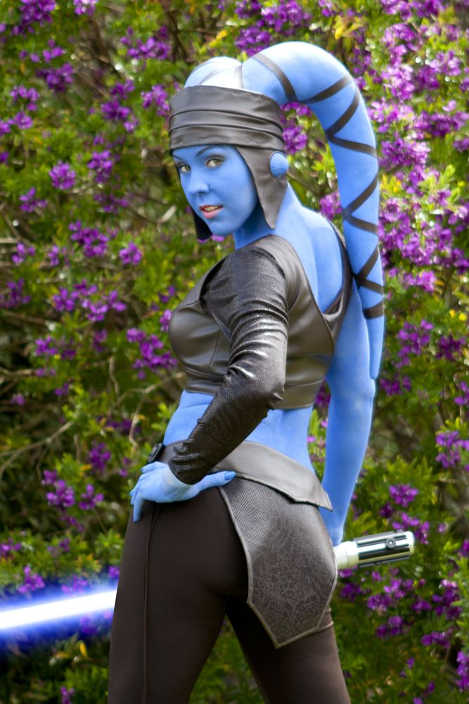 Ember's 2012 Halloween Costume Contest Entry: Aayla Secura