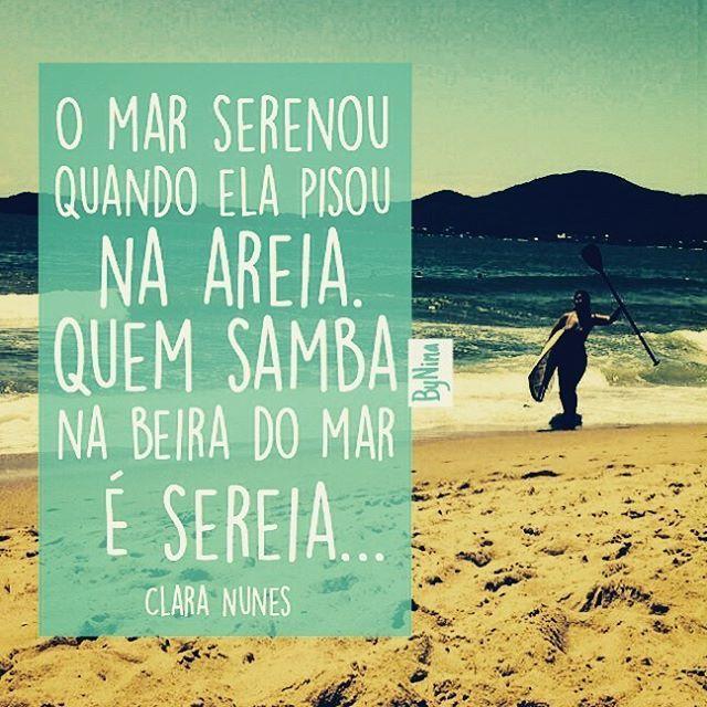 Salve Iemanjá! Energia boa que vem do mar! #iemanjá #odoya #rainhadomar #mar #frases #música #instabynina