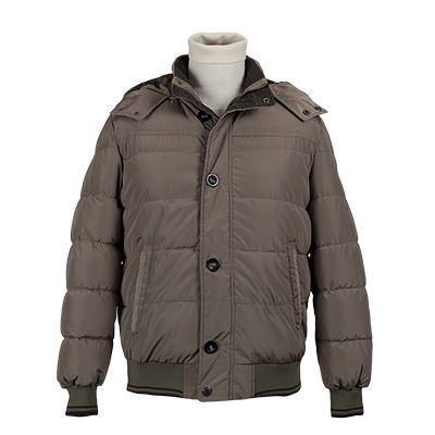 Giubbotto uomo imbottito - Tortora - Invernale. € 92,70. #hallofbrands #hob #jackets #coats #giubbotti #giaccone #invernale #wintry #winter