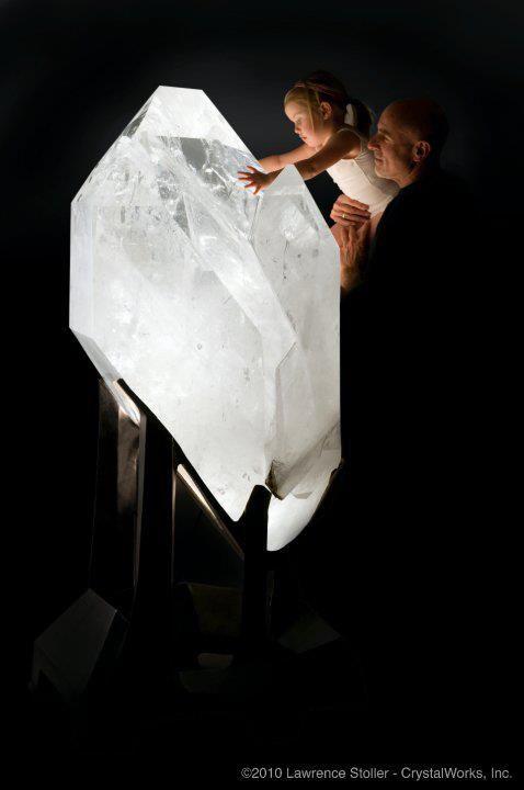 2500 pound quartz crystal | Minas Gerais Brazil