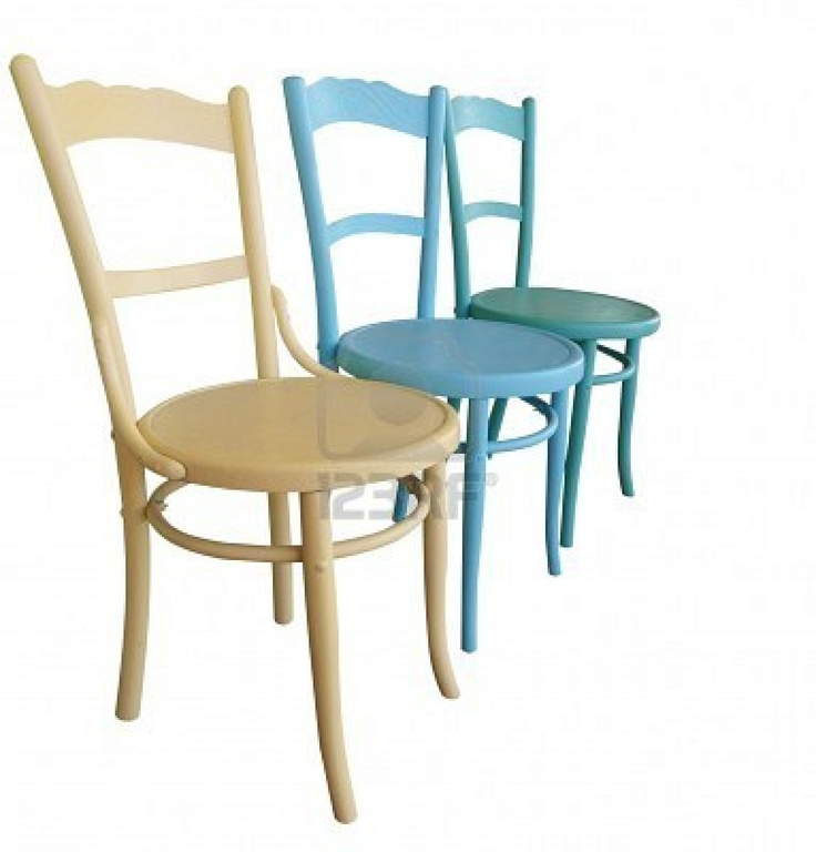 painted chairs - blue?