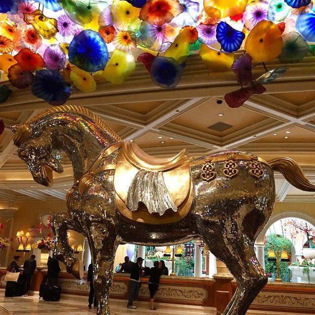 Fancy Horse ✨ #gorgeous #vegas #view #amazing #birthdaymonth