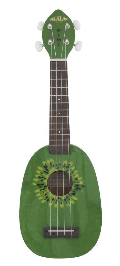 Kala KA-Kiwi Design Soprano Ukulele