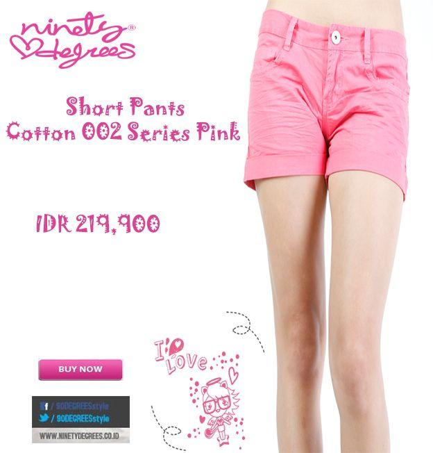 Short pants cotton ini bikin kamu Girly abis deh Girls IDR 219,900 >> http://ow.ly/vjQWm
