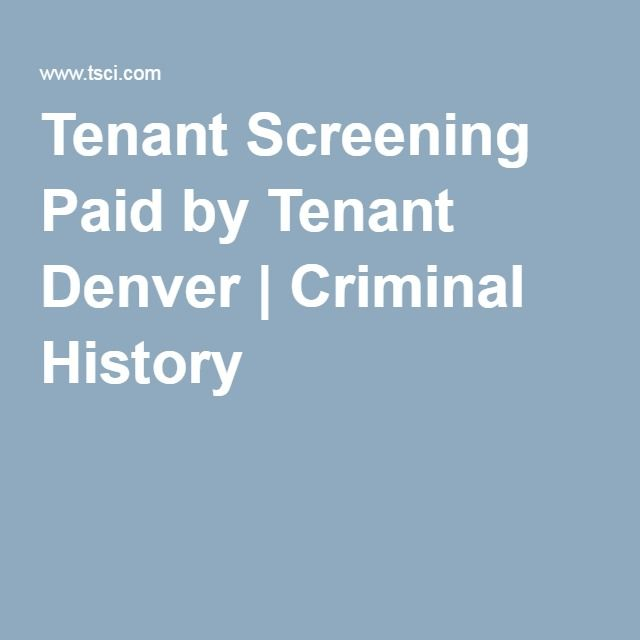 Best  Tenant Screening Services Ideas On   Property