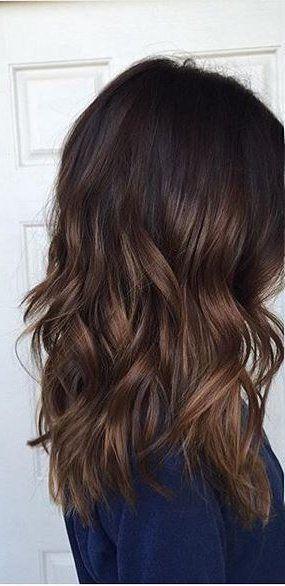 El pelo oscuro es sin duda uno de los más atractivos. Añadiendo algunas mechasbalayage luminosas y naturales, el pelo oscuro puede verse más espectacular aún. El balayage es una técnica que trata de simular el efecto del sol en el cabello. Es un error pensar que el color negr