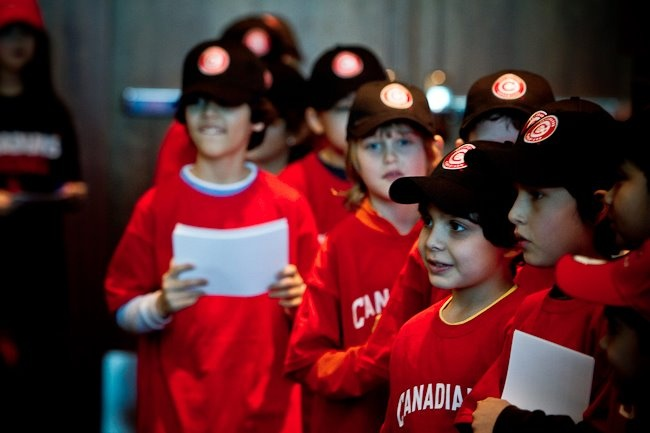 Future Vancouver Canadians Baseball League players! (Photo: Paul Yates, Vancouver Sports Pictures.)