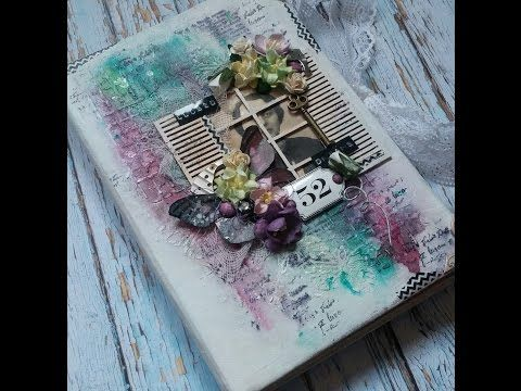 Mini Album, Mixed Media *Closed Dreams & Memories* (MakaArt) #9 - YouTube