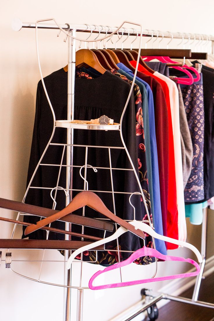 How To Organize Your Closet. Folding WardrobeBest HangersWooden ...
