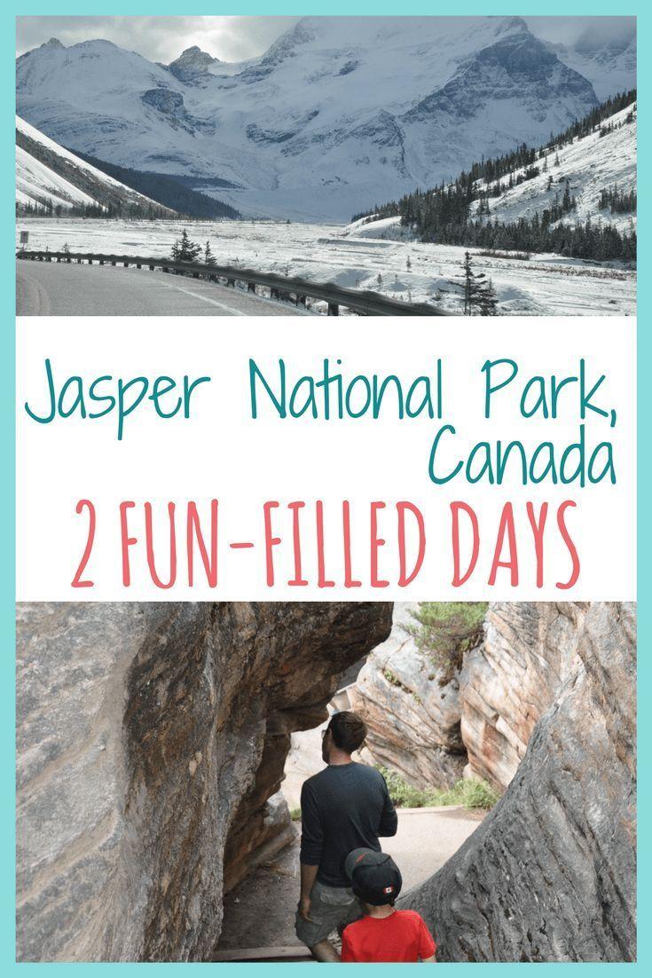 How to spend 2 fun-filled days in Jasper National Park | #Jasper #JasperNationalPark #familytrip