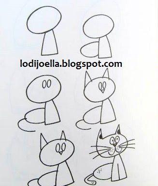 Como hacer dibujos paso a paso ~ lodijoella                                                                                                                                                                                 Más