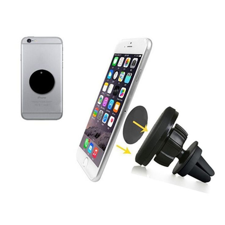 360 degrees Universal magnet mobile phone holder for iphone 6s car air vent magnetic holder stand for S5 suporte celular carro