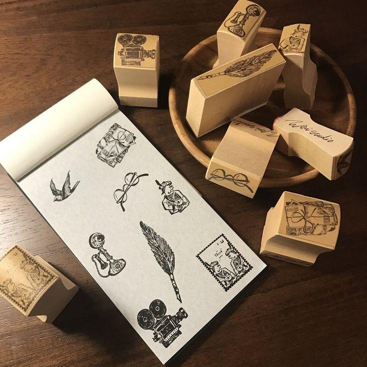 Wali Studio Stamp, As Time Goes By   瓦力工作室 印章, 流逝的記憶