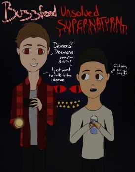 Buzzfeed Unsolved - Supernatural by graceybear1808