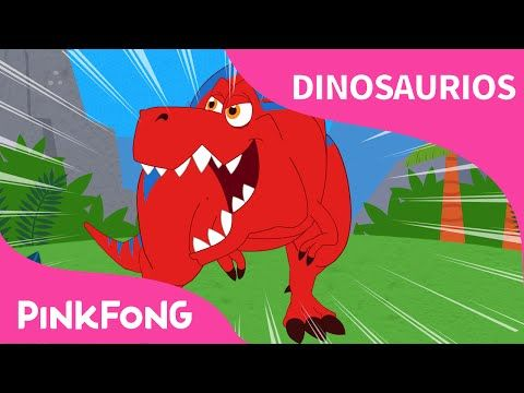 ¡Tiranosaurio Rex! | Dinosaurios | PINKFONG Canciones Infantiles - YouTube