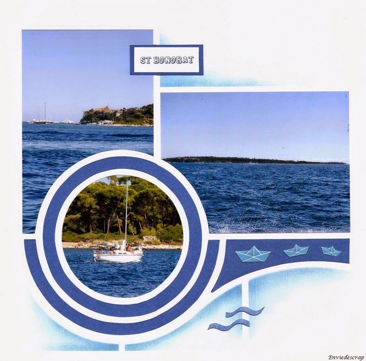 Envie de scrap: Ile Saint Honorat