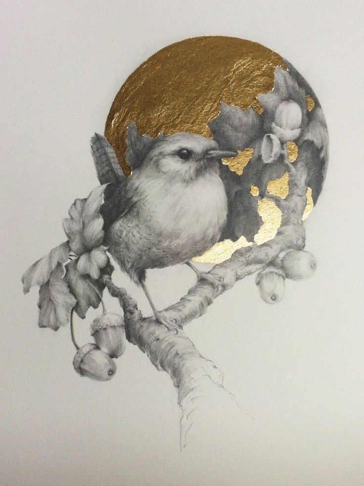 Little Wren | Working with Gold & Silver Leaf | Pinterest ...