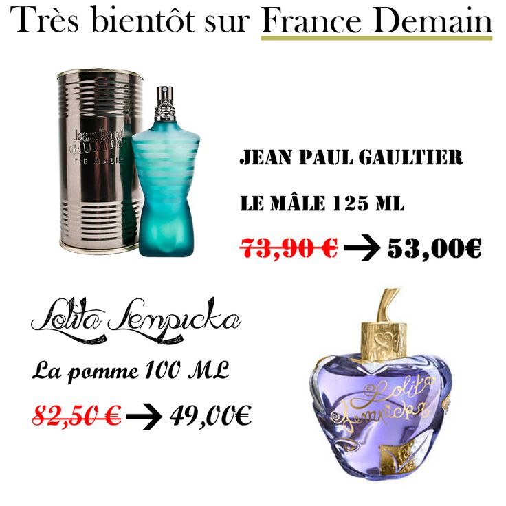 Découvrez très bientôt les PROMOS PARFUMS DE NOEL dans la Boutique @FranceDemainFR!   >>Suivez nous sur Twitter pour découvrir toutes les promos de produits de luxe à petit prix!