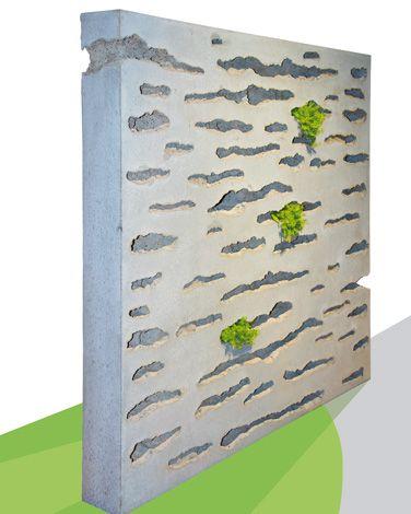 Para Verde von braun-steine eigent sich hervorragend als bepflanzbarer Sichtschutz