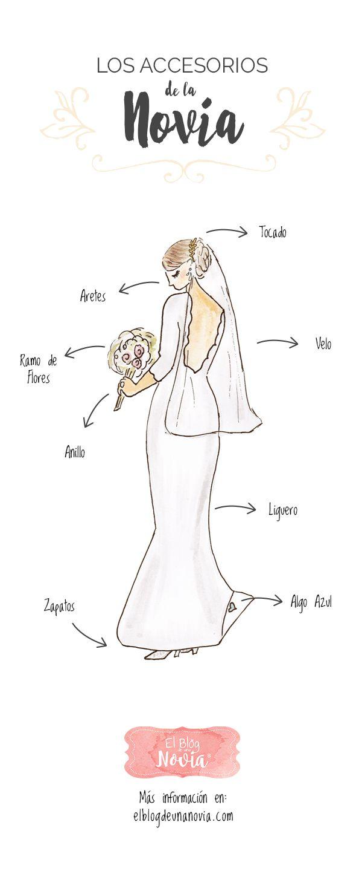 Los Accesorios de la Novia | El Blog de una Novia | #boda #novia