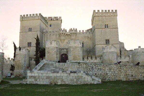 Castillo de Ampudia, Palencia, España