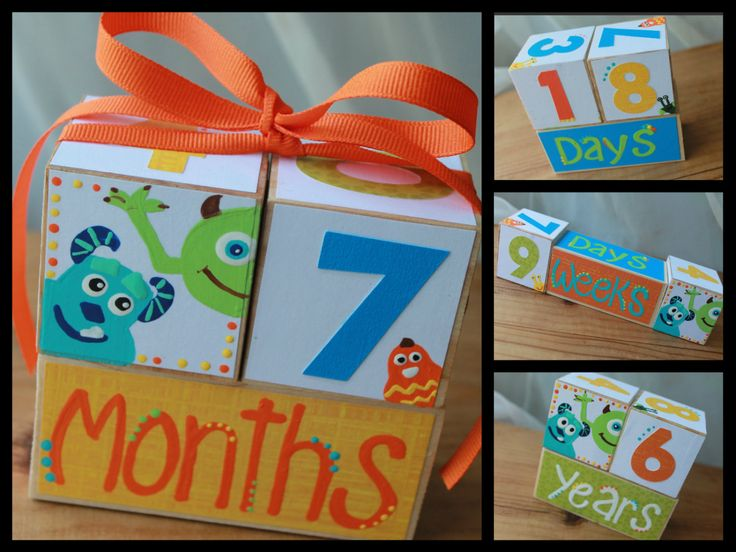 Monsters Inc Growth Blocks by DaisyPatch44 on Etsy https://www.etsy.com/listing/194750013/monsters-inc-growth-blocks