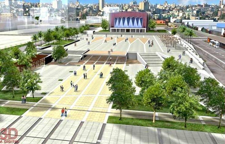 Plaza espacio publico texturas urbanismo proyectos for Mobiliario espacio publico