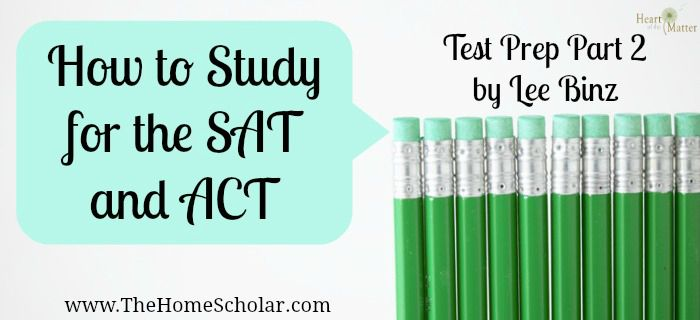 Moms and dads are often skeptical about test prep. But when you think about it, studying for these tests means studying reading, writing, and math. You want your child to learn reading, writing and math, right? So what harm will this do? http://heartofthematteronline.com/how-to-study-for-the-sat-and-act-test-prep-part-2/