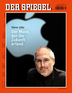 October 11, 2011 | DER SPIEGEL [GE] Nr. 41 | The man who invented the future