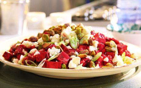 Siba's Beetroot and Feta Cheese Salad by Siba Mtongana (Beetroot, Cheese) @FoodNetwork_UK