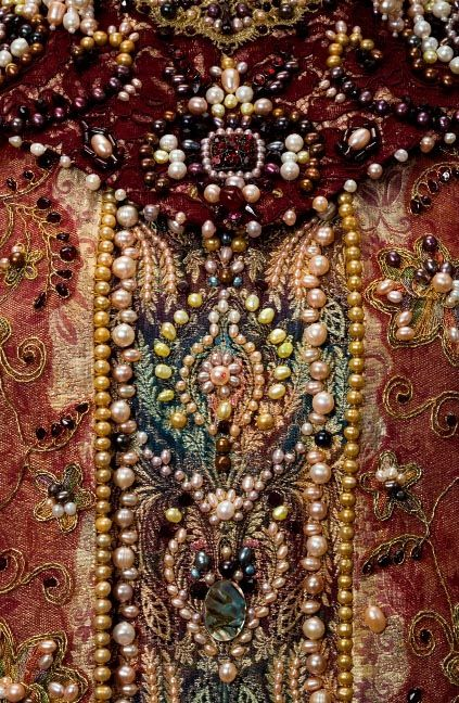 Russian embroidery and beadwork