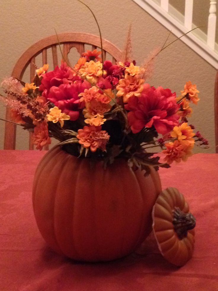pintrest fall table centerpiece | just b.CAUSE