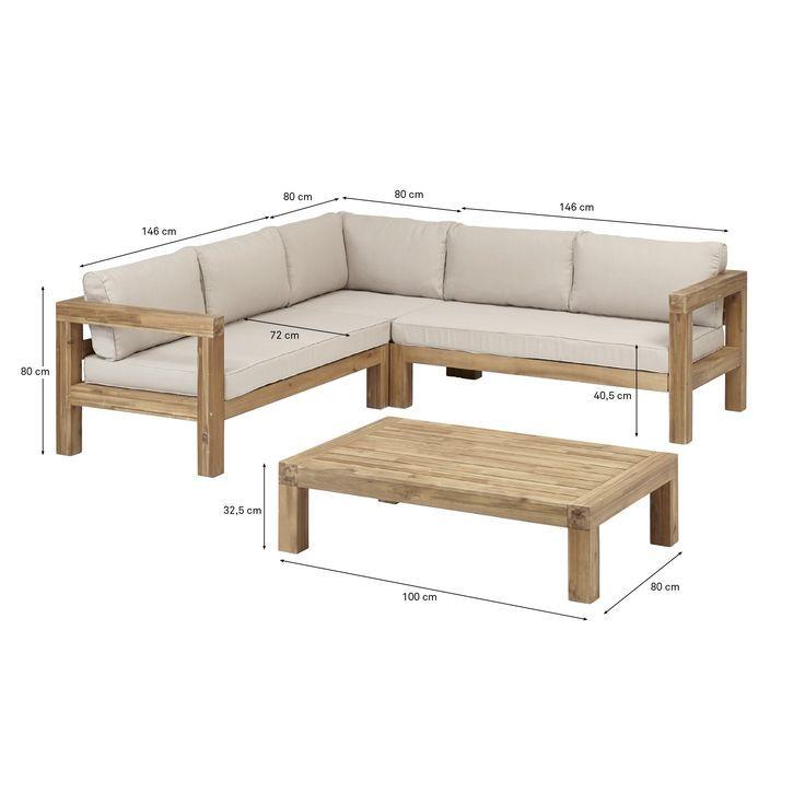 Loungeset Curinga Acaciahout Acaciahout Curinga Loungeset Muebles Hechos En Casa Muebles Para Terrazas Muebles