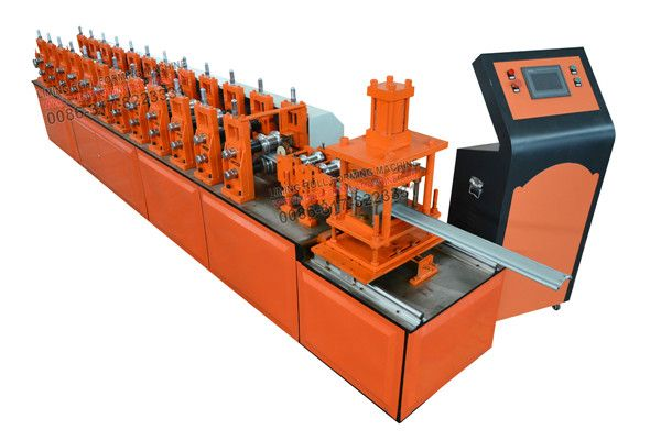 #Shutter #door #roll #forming #machine is divided into two style:powerful style shutter door roll forming machine and comprehensive style shutter door roll forming machine. The comprehensive style is the old press, using the traditional special machine making processing .