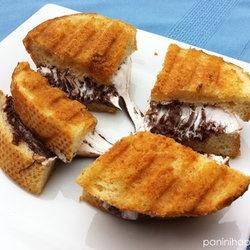 ... Panini Recipes, Nutella S Mores, Favorite Recipes, S Mores Panini