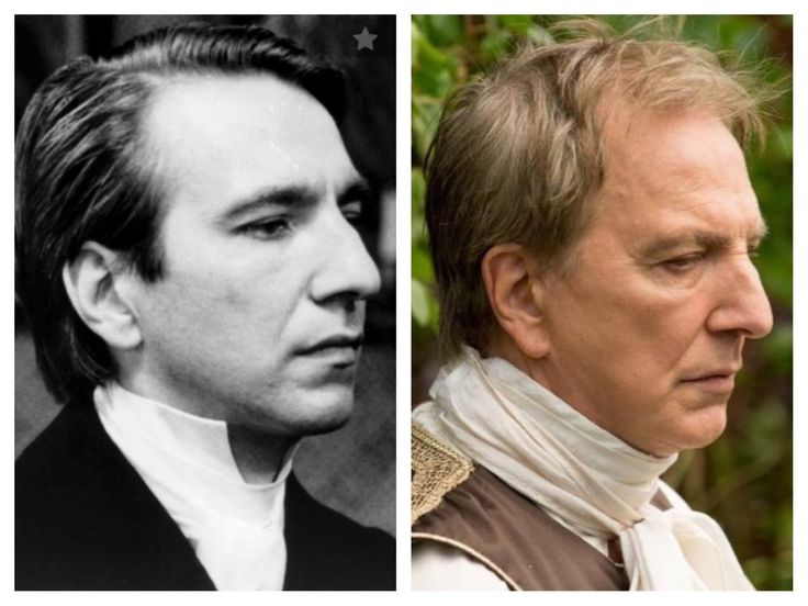 """Alan as Obadiah Slope in the """"Barchester Chronicles"""" 1981 and King Louis in """"A Little Chaos"""" 2014."""