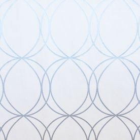 allen + roth White and Silver Strippable Vinyl Unpasted Textured Wallpaper: