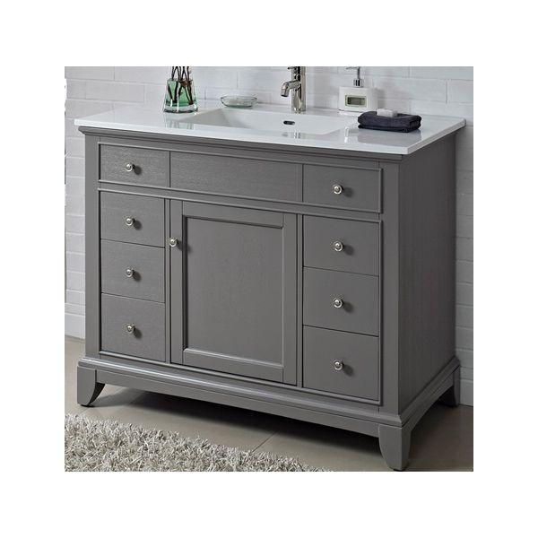 Buy The Fairmont Designs 1504 V42 Smithfield Medium Gray Bathroom